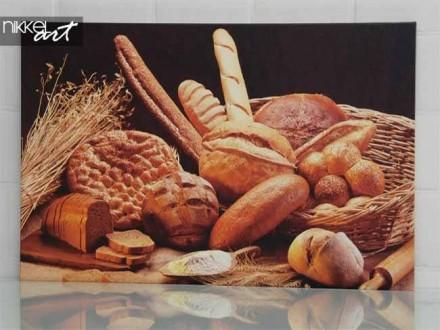 Een prachtig foto op canvas voor bakkerij