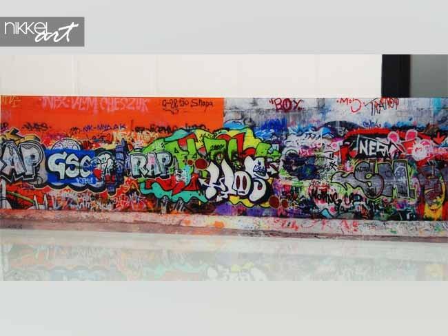 Foto op Plexiglas Graffiti