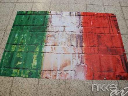 Foto op Tuinposter Italiaanse vlag