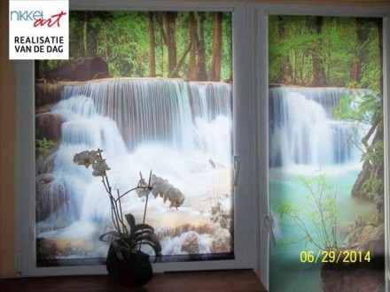 Fotorolgordijn Watervallen