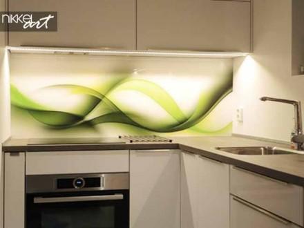 Keuken foto achterwand Abstract wave