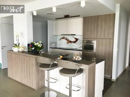 Keuken foto achterwand Cafe