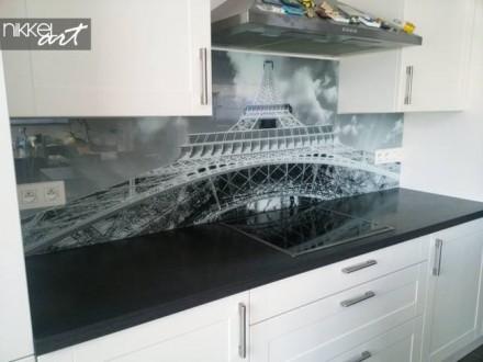 Keuken foto achterwand Eiffeltoren