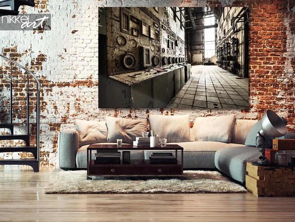 Foto op Plexiglas Oude verlaten gebouwen