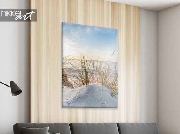 Canvas met zeezicht