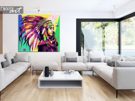 Foto op Canvas Pop Art
