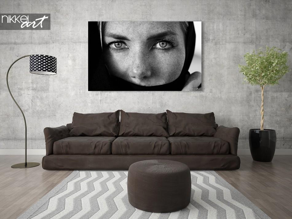 Foto op plexiglas zwart-wit