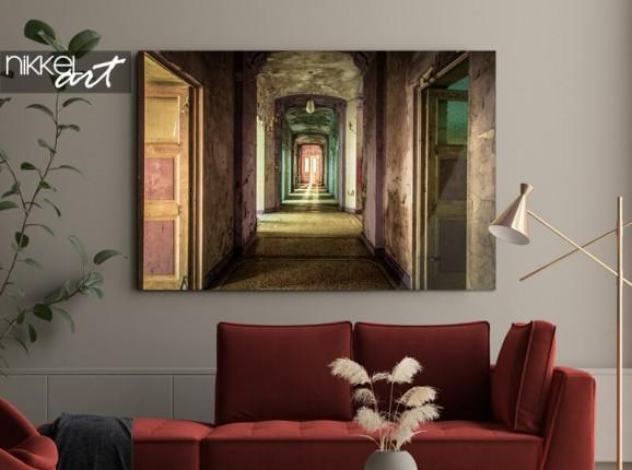 Foto op plexiglas Peter Odekerken - Broken Hallway