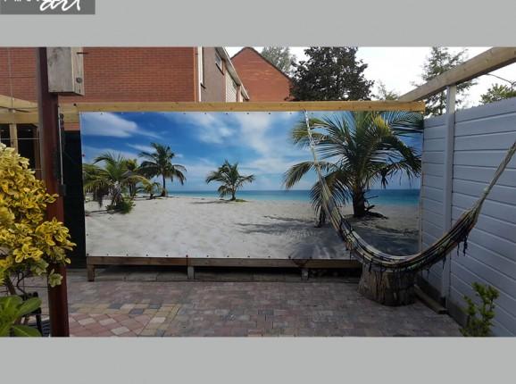 Foto tuinposter strand