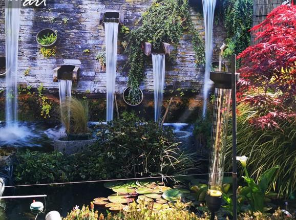 Foto tuinposter watervallen
