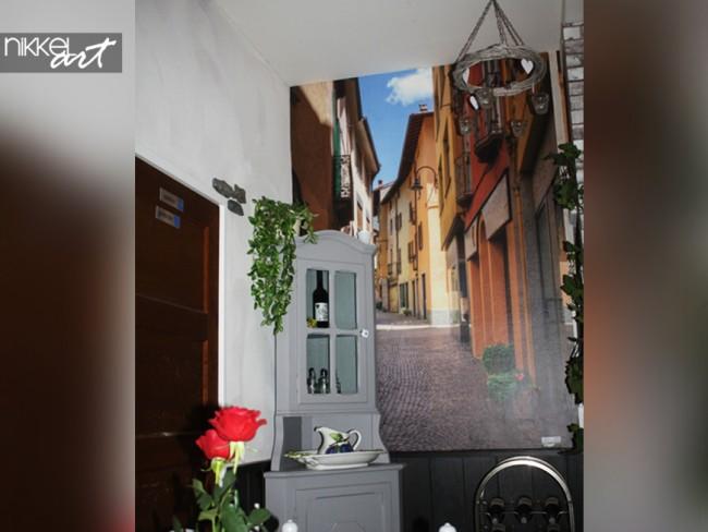 Fotobehang in Pizzeria en ijssalon Il Rustico