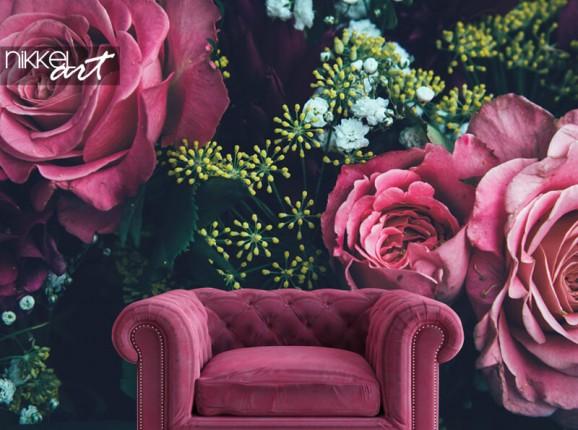 Fotobehang bloemen