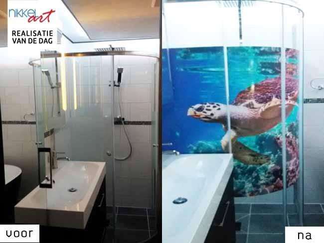Raamstickers voor je badkamer