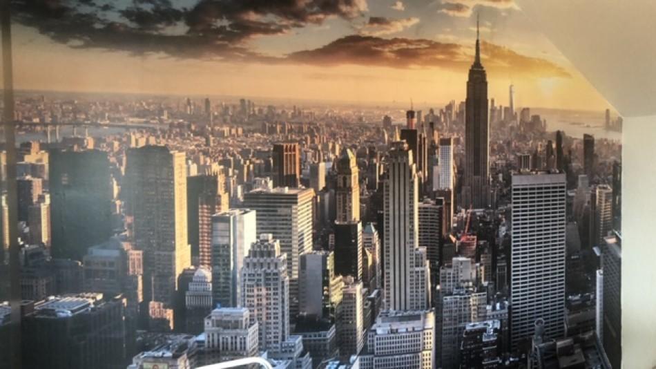 Fotobehang Skyline New York City
