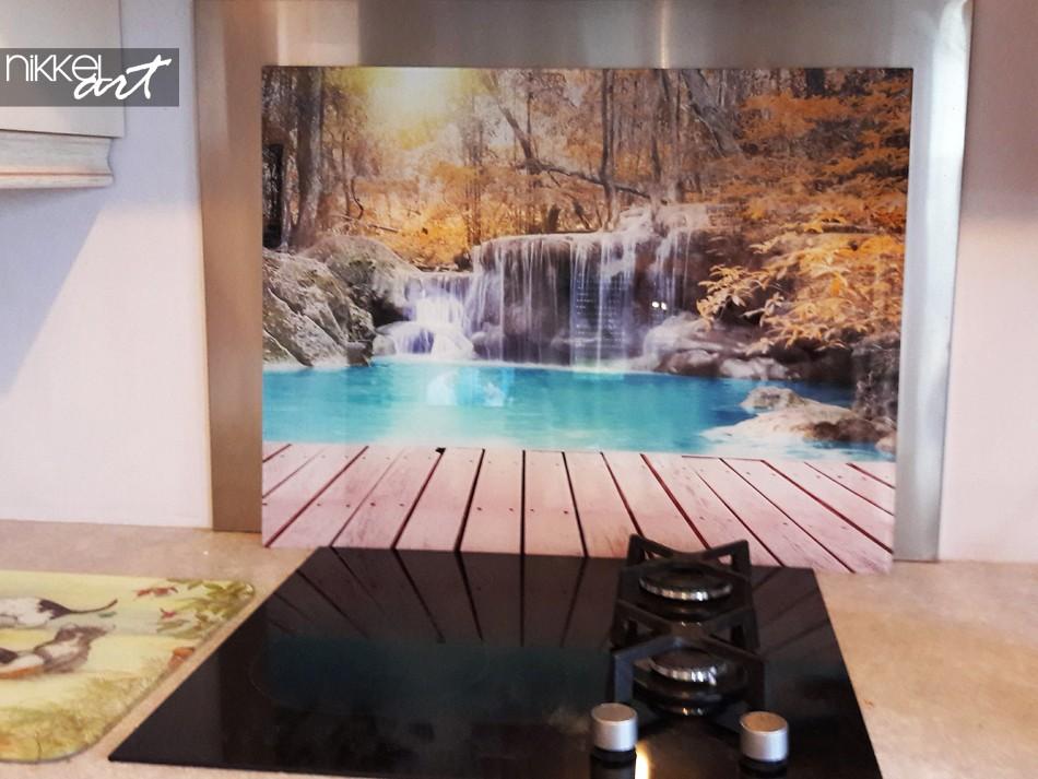 Keuken foto achterwand Watervallen