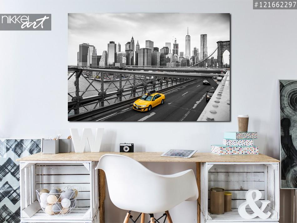Foto op Plexiglas Brooklyn bridge