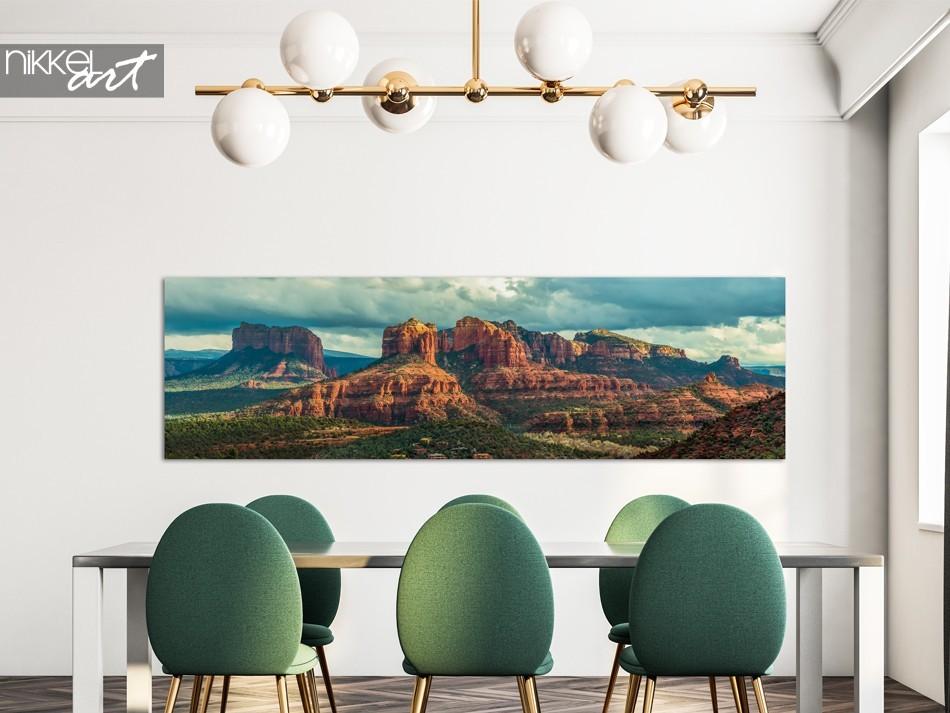 Panorama Canyon op Aluminium