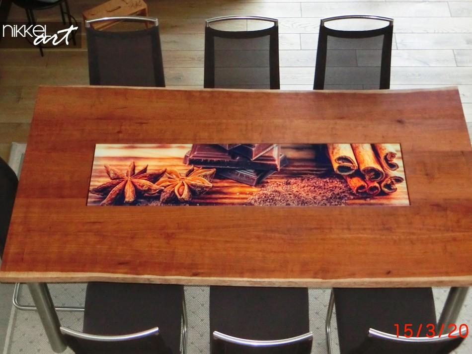 Plexiglas tafelblad