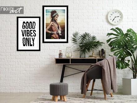 Studiekamer met Poster Gypsy