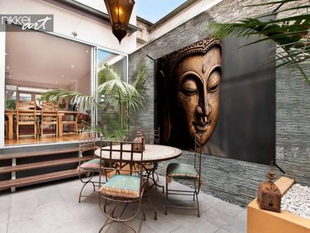 Tuinposter met boeddha