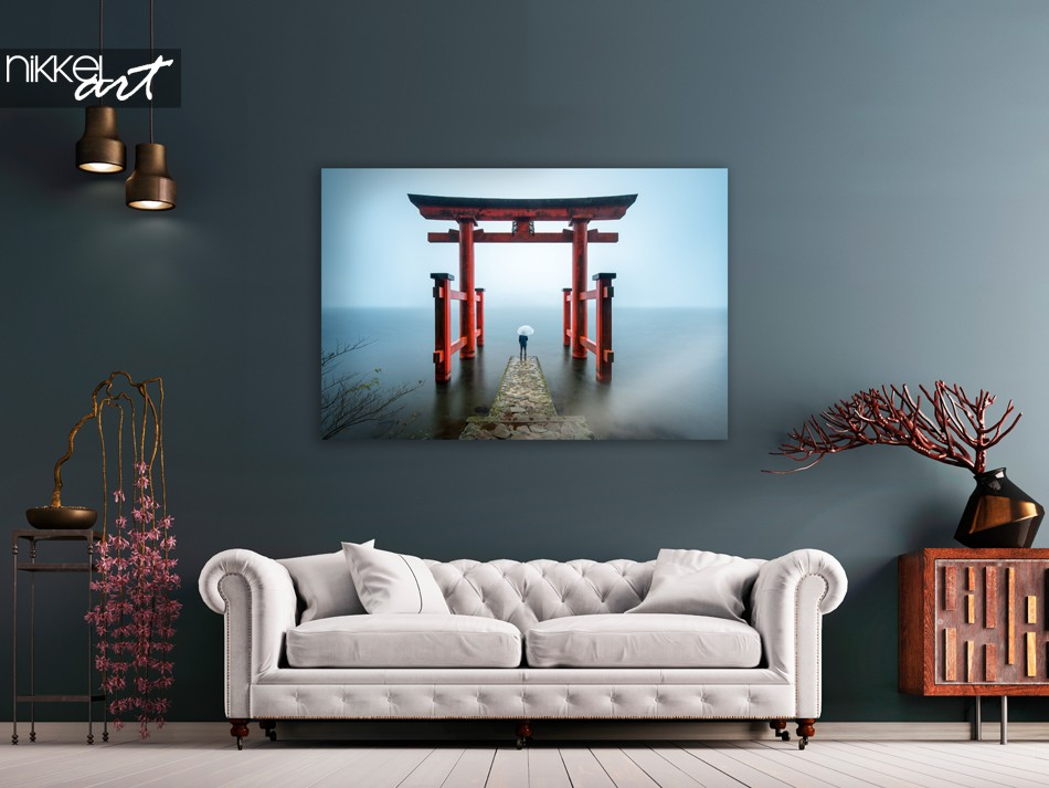 Foto Hakone Shrine Japan op Plexiglas