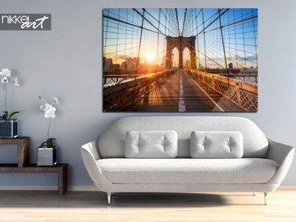 Foto op Plexiglas Brooklyn Bridge