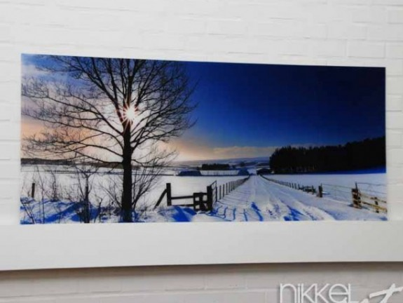 Foto op Plexiglas Winter