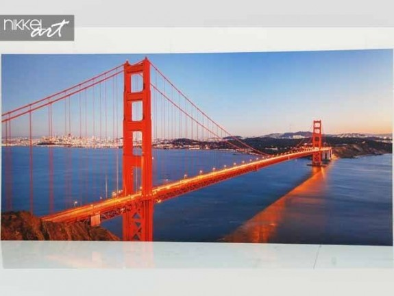 Foto op aluminium Golden Gate Bridge