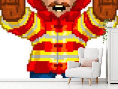 PixelArt: Fireman