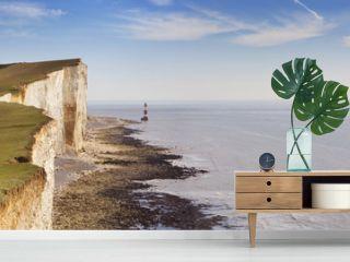 Cliffs at Beachy Head on the south coast of England