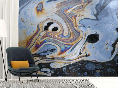 tar water abstract colors