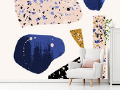 Abstract Modern Collage Design