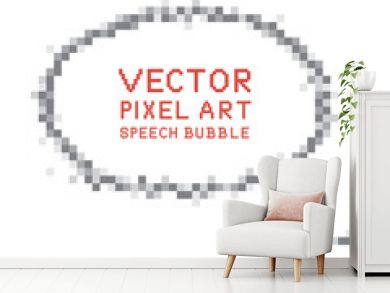 Pixel Art Speech Bubble