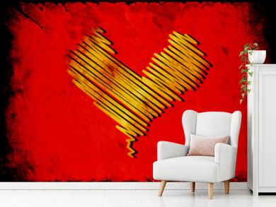 Retroplakat - Liebe