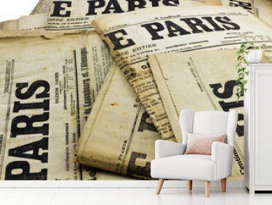 Ancien journaux Paris