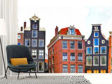 Amsterdam . traditional houses border