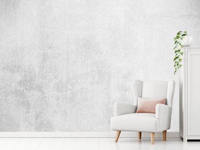 white grunge concrete wall texture