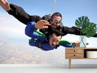 Skydive tandem friends