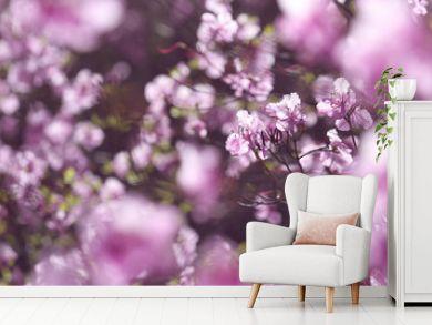 wild pink azalea