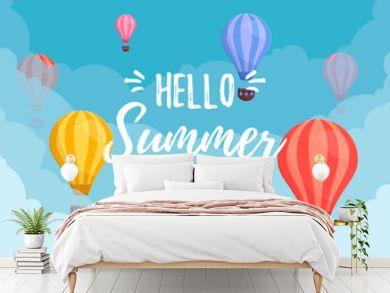 Summer Sale. Balloon.
