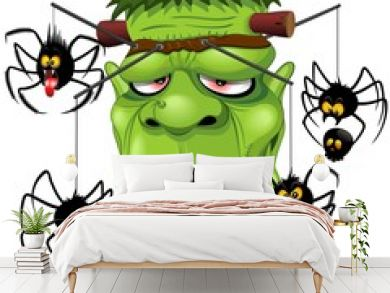 Social Distancing Frankenstein and Creepy Spiders