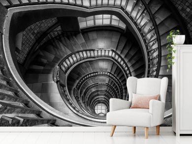 Peter Odekerken - Inverted black & white