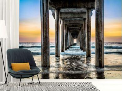 Peter Odekerken - Pier Sunset