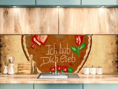 Retroplakat - Lebkuchen