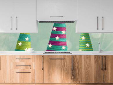 Cones shape Christmas Trees