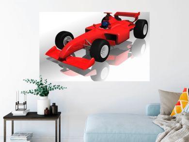 Ferrari F1 - highly detailed illustration