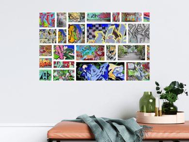 collage...graffiti