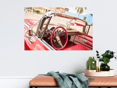 Classic Chevrolet in Trinidad. Cuba.