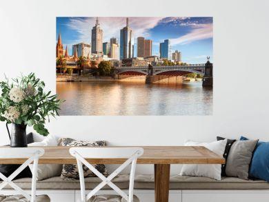 Melbourne skyline from Southbank