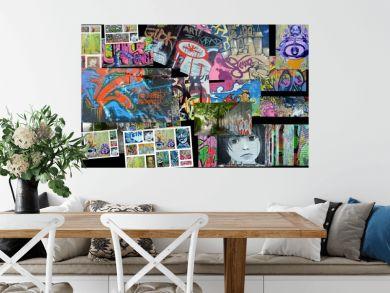 collage...art urbain